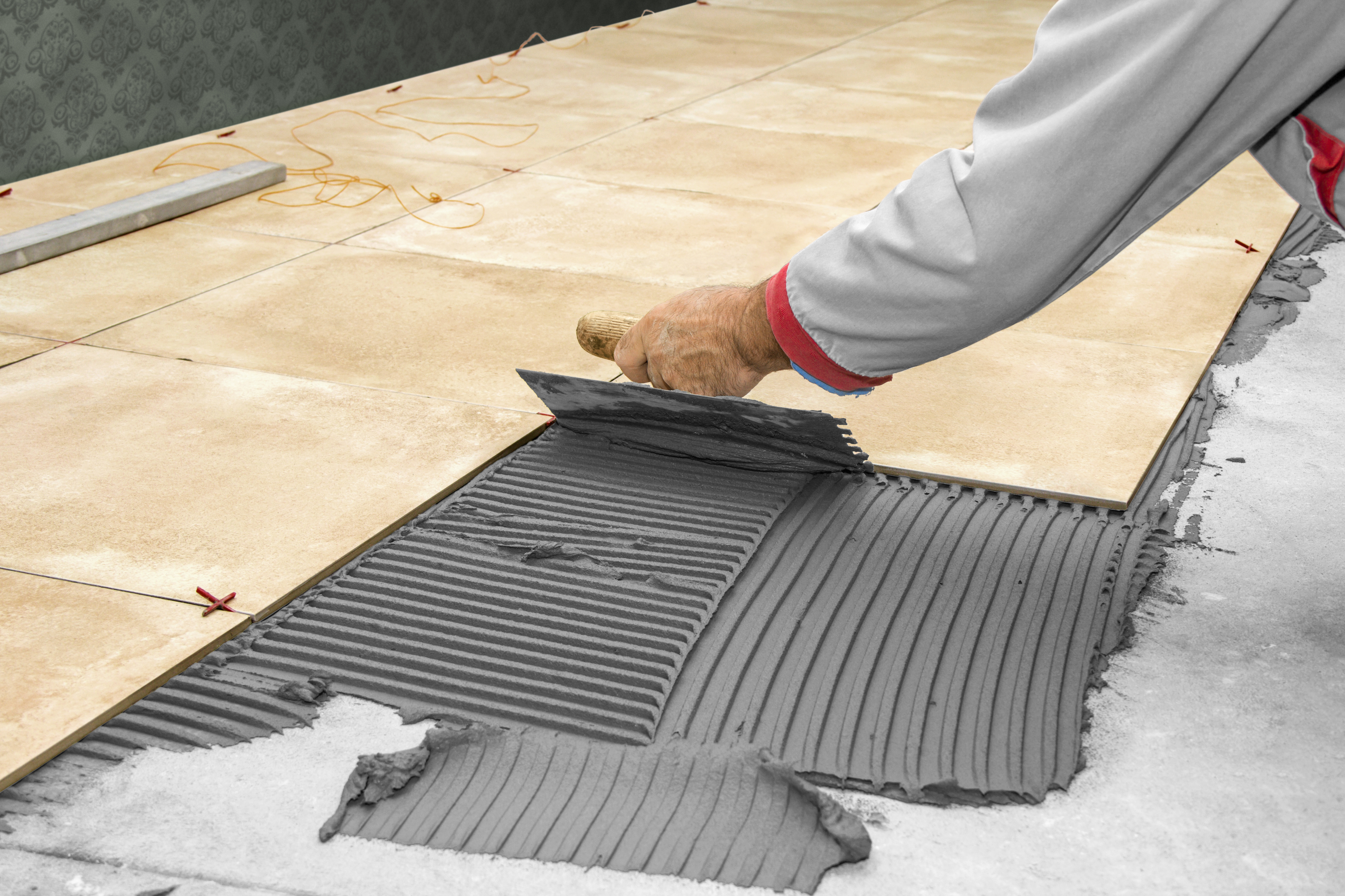 Płytki podłogowe montaż